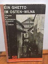 Moshe Vorobeichic Ein Ghetto im Osten Wilna 65 Photos Chneour 1st 1931 Judaica