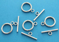 4 Stainless Steel Toggle Clasps Sets - FD108