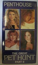 Penthouse VHS The Great Pet Hunt Part II New & Sealed
