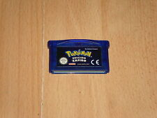 POKEMON EDICION  ZAFIRO PARA LA NINTENDO GAME BOY ADVANCE GBA USADO