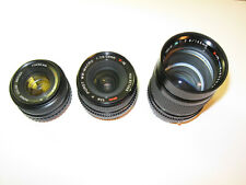 PORST X-M Set: 1:1.9/50mm 1:2.8/28mm 1:2.8/135mm *nice condition*