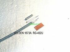 BELDEN 1673A(RG-402/U) 50Ω RIGID MWAVE UNJACKETED COAXIAL CABLE,PRICE FOR 1M