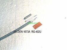 BELDEN 1673A (RG-402/U) 50Ω rigido Mwave integrita cavo coassiale, il prezzo per 1M
