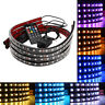 "LED UNDERBODY KIT 48"" & 36"" UNDERCAR LIGHT NEON GLOW MULTI-COLOR STRIPS + TAPE"