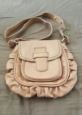 MIMCO Pink Mushroom Nude Beige Leather Ladies Shoulder Cross Body Bag Handbag  2
