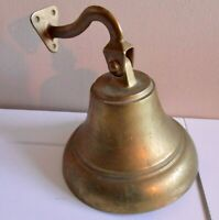 """HANGING BELL - 7 """" Wide at Base & Weighs 3 lbs.  - VERY LOUD! -- Now at Cost!!!"""