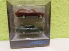 con el embalaje original, Eso-2892 1:87 Herpa Opel Tigra azul muy buen estado