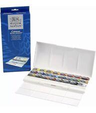 Winsor & Newton Cotman 24 Whole Pan Watercolour Studio Set