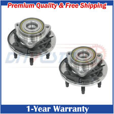 Set :2 New Front LH & RH Wheel Hub & Bearings for Chevy Astro GMC Safari 2WD ABS
