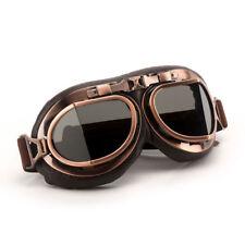 Motorcycle Retro Vintage Aviator Pilot Bikes Racing Goggles Steampunk Glasses