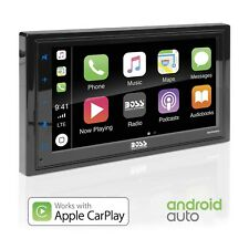 BOSS Audio BVCP9685A Apple Carplay Android Auto Car Multimedia Player - Doubl...