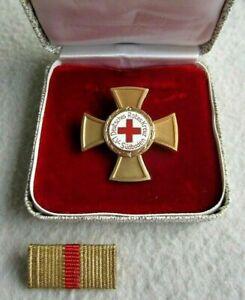 DRK Ehrenkreuz in Gold Orden des Deutschen Roten Kreuz LV Baden-Württemberg