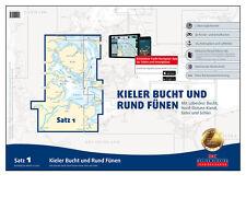 DK Satz 1, Ostsee - Kieler Bucht + Rund Fünen 2017 # Sportbootkarten digital App