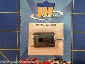 New JK Hawk 7 Slot Car Motor 1/24 slot car from Mid America Raceway 30307