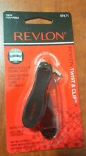Revlon Twist & Clip Nail Clipper with file inside new