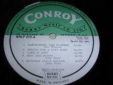 LIBRARY CONROY/BERRY MUSIC BLMP019 10inch LP 1966 Various composer  *RAR*