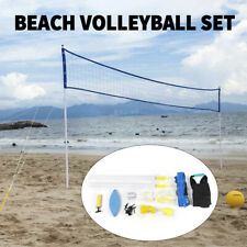 Portable Volleyball Net Set Beach Park Regulation Sport Outdoors Team Ball SALE!
