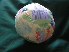HAND MADE Patchwork BABY'S BALL-vintage tessuto Nursery