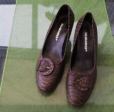 Salamander Pumps Schuhe braun  40 41  UK 7  Damenschuhe