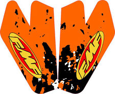 KTM Front Fender FMF Graphic Kit Decal 125 200 250 380 520 525 SX MXC EXC LC4