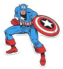 CAPTAIN AMERICA stance STICKER *Free Shipping decal marvel comics avengers smvl3