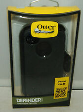 New Otterbox Defender Series Case & Holster Belt Clip for Apple Iphone 4S 4