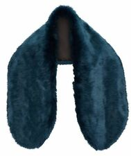 NEW~LUXURY ONE-SIZE FAUX FUR COLLAR WRAP - COLOUR TEAL - THE PERFECT ACCESSORY