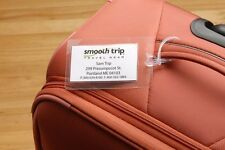 Smooth Trip Self Laminating Luggage Tags 4 Pack ST-LT66  *FREE SHIPPING!*