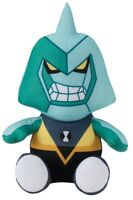 Official Ben 10 Diamondhead Plush Figure Stuffed Gift Toy Cartoon Network Kids