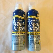 2 Pack T.N. DICKINSON'S WITCH HAZEL HEAD TO TOE ASTRINGENT 6 OZ EACH 99% Natural
