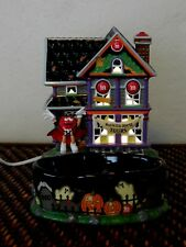 M&M Halloween Haunted House Tours Lighted House and Candy Dish, 2004,