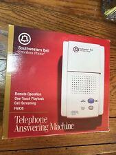 New Southwestern Bell Freedom Phone FA936 Telephone Answering Machine