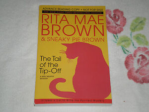 RITA MAE BROWN Autographed Copy \u201cFox Tracks\u201d Book New York Times Best Selling Author of Sneaky Pie Brown Novels 100/% Authentic!