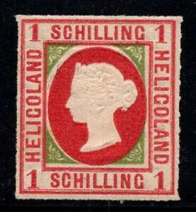 Heligoland 1867 Mi. 2 Ungebraucht * 100% 1 S, Königin Victoria