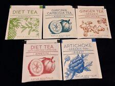 """"""" NATURE BOTIQUE LONDON"""" Selection Pack  5 Different  Enveloped Tea Bags"""