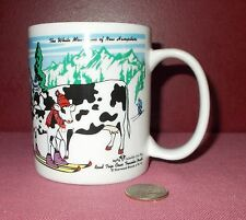 2000 ROAD TRIP COWS MUG CUP South Dakota New Hampshire