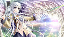407 Angel Beats CUSTOM PLAYMAT CUSTOM PLAY MAT ANIME PLAYMAT FREE SHIPPING