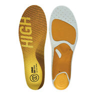 Sidas Unisex Run 3Feet Sense High Orange Yellow Sports Running Insoles