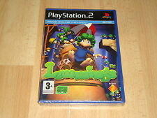 LEMMINGS DE TEAM 17 PARA LA SONY PLAY STATION 2 PS2 NUEVO PRECINTADO
