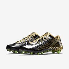 *NEW* Nike Vapor Carbon Elite 2.0 TD Football Cleats Black Gold Sz 14 657441-020