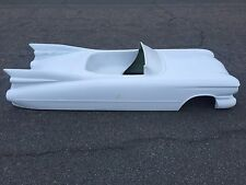 1959 Cadillac Convertible hot rod stroller pedal car fiberglass body 1960 1958