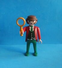 Playmobil Sherlock holmes magnifying glass Detectiv London  Hombre con lupa 4501