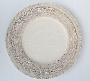 """ARTE ITALICA Finezza Cream 13"""" Charger Serving Plate - Excellent Condition!"""