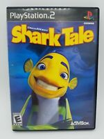 DreamWorks' Shark Tale (Sony PlayStation 2, 2004) PS2 Complete Tested