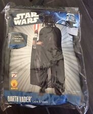 STAR WARS Darth Vader Childs Size M Halloween Costume Dress Up by RUBIES  New.