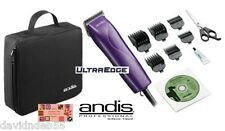 Andis Pro PET Clipper Kit w/Ultraedge 10 Blade,6 Guide Combs,Shears,Case,DVD*NEW