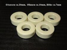Ferrit Toroid Ferrit Ringkern Core TN24//15//7.5-2P80 EMI Suppression 4 Stück