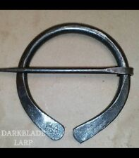 Re-enactment Medieval LARP Cosplay Viking Cloak Pin Penannular Brooch