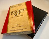 Nelson New King James Version Wide Margin Reference Bible, 476 Black, Vintage