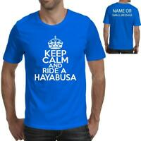 Keep Calm and Ride a HAYABUSA Fathers Day T-Shirt Ideal Birthday Gift